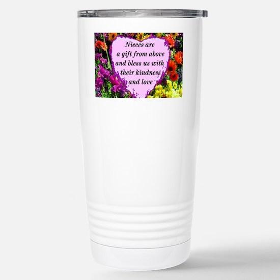 NIECE BLESSING Stainless Steel Travel Mug