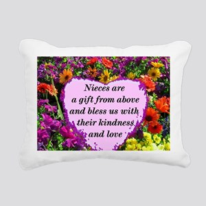 NIECE BLESSING Rectangular Canvas Pillow