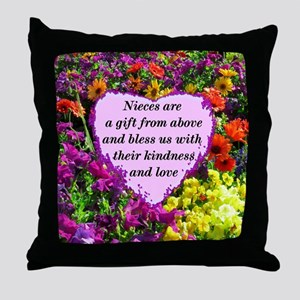 NIECE BLESSING Throw Pillow