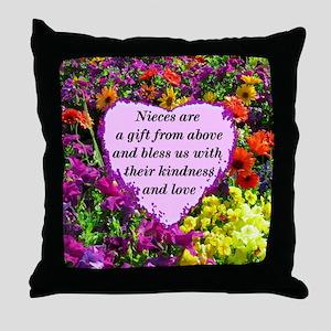 NIECE BLESSING Throw Pillow