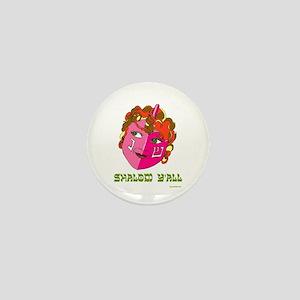 Shalom Y'all Dreidel Mini Button