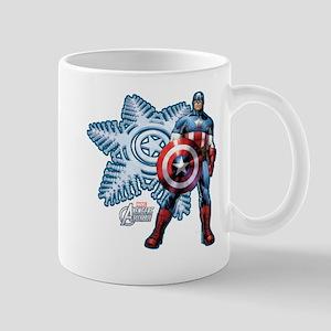 Holiday Captain America Mug