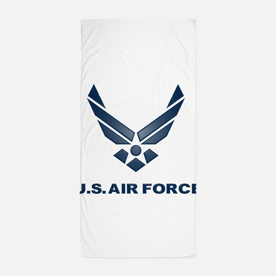 USAF Symbol Beach Towel