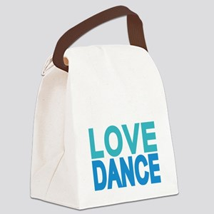 Addicted to West Coast Swing Canvas Lunch Bag