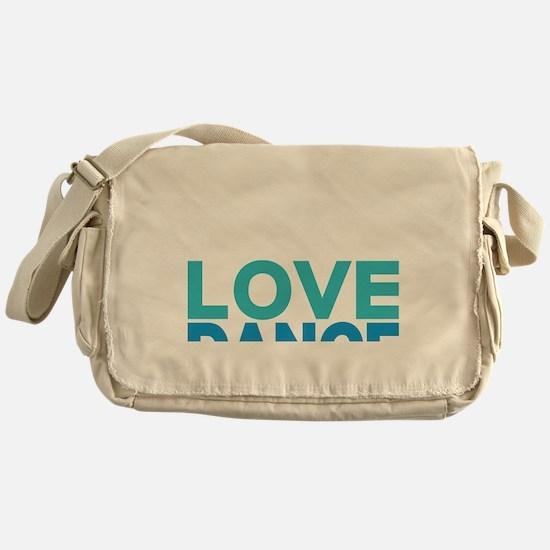 Swing Dancer California Messenger Bag