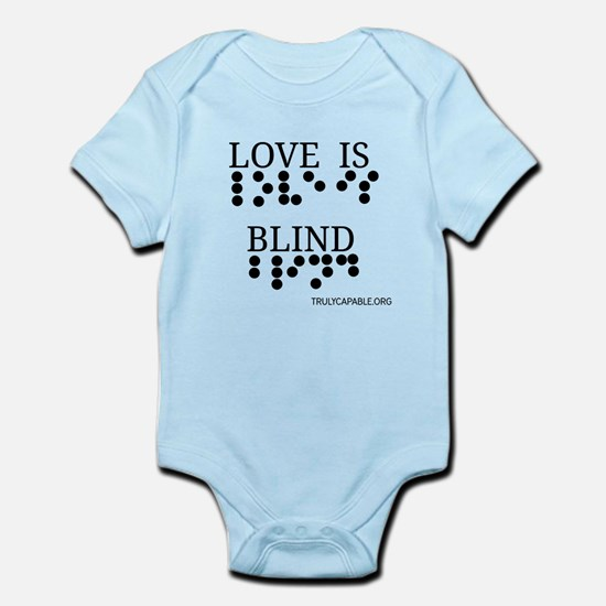 Trans Love Is Blind Basic Body Suit