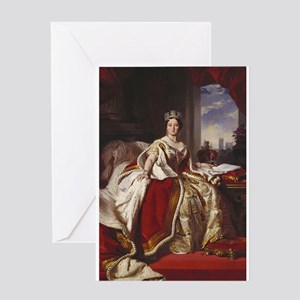 queen victoria Greeting Cards