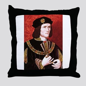richard the third Throw Pillow
