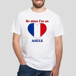 Aigle, Valentine's Day White T-Shirt