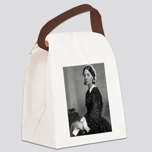 florence nightengale Canvas Lunch Bag