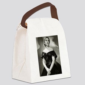maria callas Canvas Lunch Bag