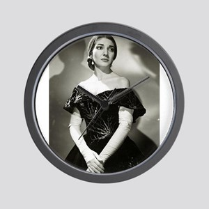 maria callas Wall Clock