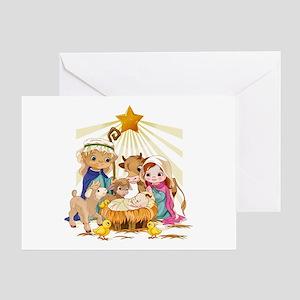 Nativity- Greeting Card