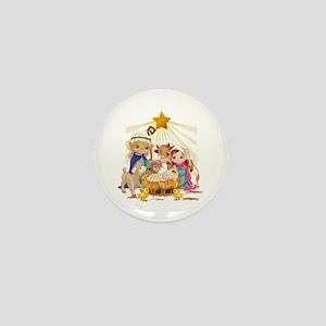 Nativity- Mini Button
