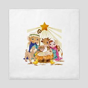 Nativity- Queen Duvet