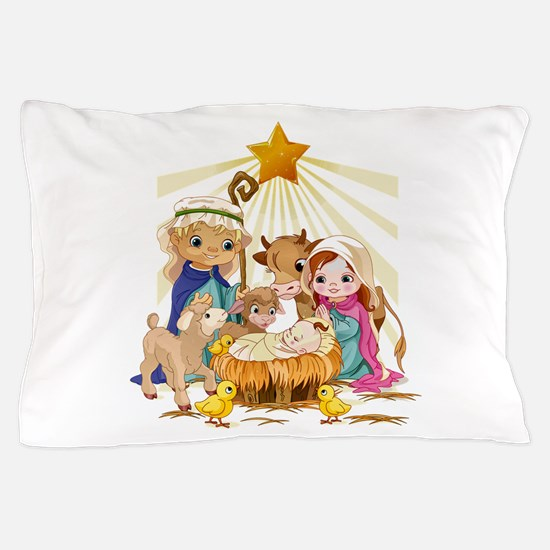 Nativity- Pillow Case