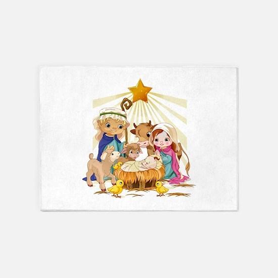 Nativity- 5'x7'Area Rug