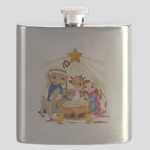 Nativity- Flask
