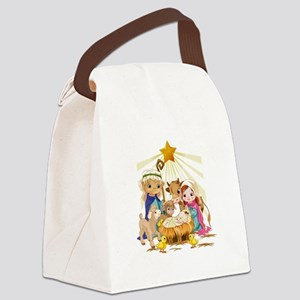 Nativity- Canvas Lunch Bag