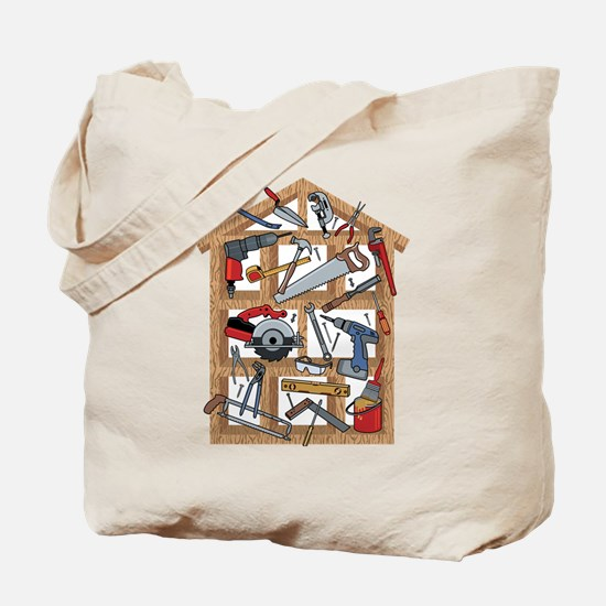 Home Construction Tote Bag