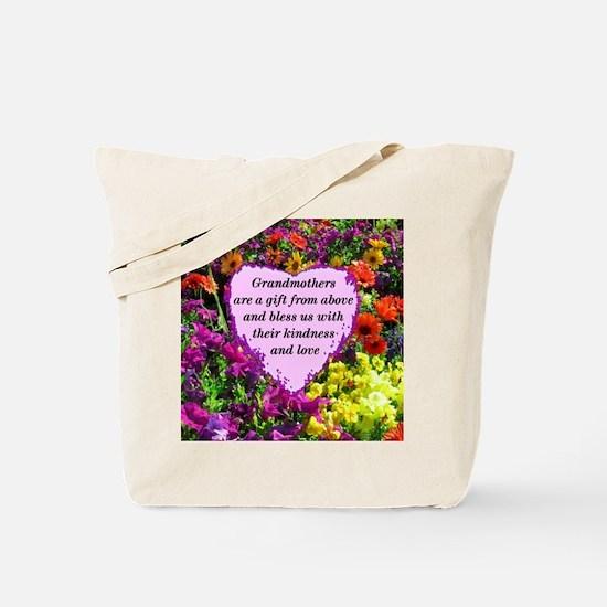BLESSED GRANDMA Tote Bag