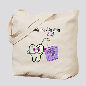 Twistin the Day Away Tote Bag