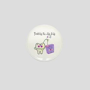 Twistin the Day Away Mini Button