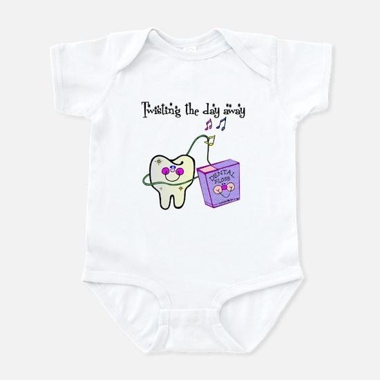Twistin the Day Away Infant Bodysuit