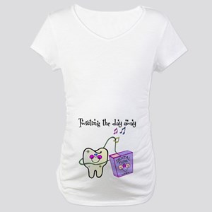 Twistin the Day Away Maternity T-Shirt