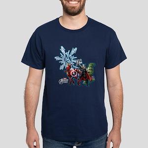 Holiday Avengers Dark T-Shirt