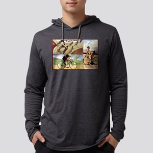 Vintage Cycling Cyclists Long Sleeve T-Shirt