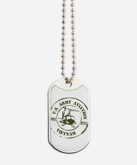 Army Aviation Vietnam Dog Tags