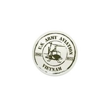 Army Aviation Vietnam Mini Button