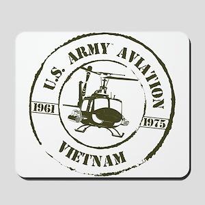 Army Aviation Vietnam Mousepad