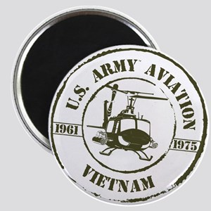 Army Aviation Vietnam Magnet