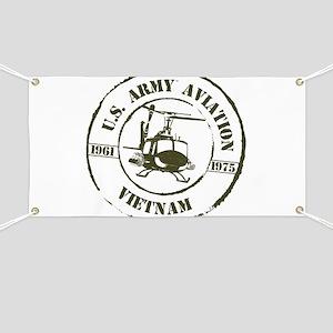 Army Aviation Vietnam Banner