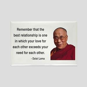 Dalai Lama 4 Rectangle Magnet