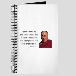 Dalai Lama 4 Journal
