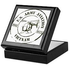 Army Aviation Vietnam Keepsake Box