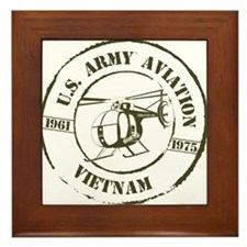 Army Aviation Vietnam Framed Tile