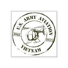 Army Aviation Vietnam Square Sticker 3