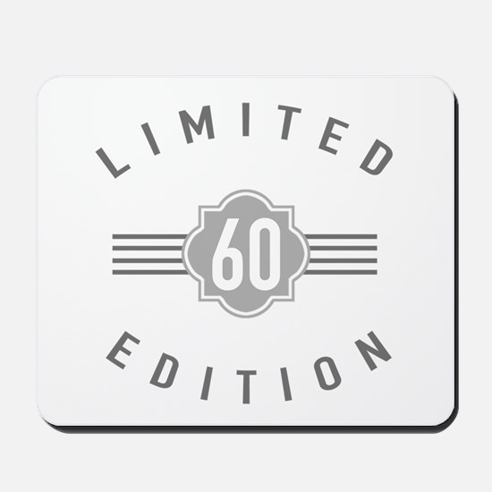 60th Birthday Limited Edition Mousepad