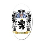 Gorhardt 35x21 Oval Wall Decal