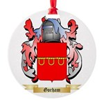 Gorham Round Ornament