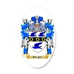 Gorgler Oval Car Magnet