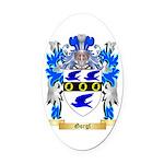 Gorgl Oval Car Magnet