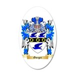 Gorger 20x12 Oval Wall Decal