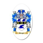 Gorger 35x21 Oval Wall Decal