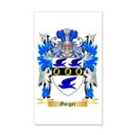 Gorger 20x12 Wall Decal