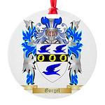 Gorgel Round Ornament
